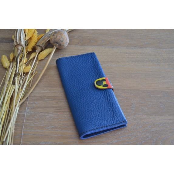 Deri Uzun Cüzdan / Telefon Cüzdanı / Çeşitli Renk Alternatifleriyle